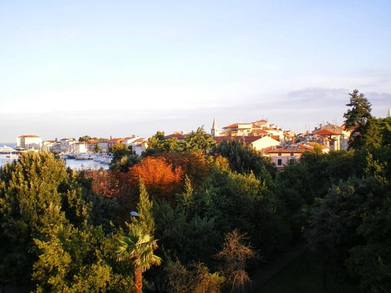 Hotel Porec: View from room balcony