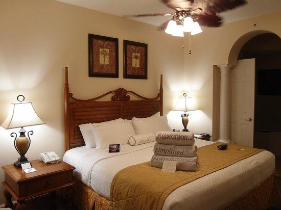 Grande Villas Resort: Main bedroom