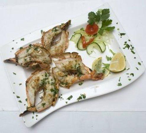 Isola Bella - Ristorante Pizzeria Gelateria: Scampi vom Grill