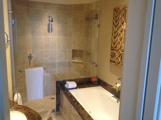 InterContinental Johannesburg OR Tambo Airport : Nice bathroom