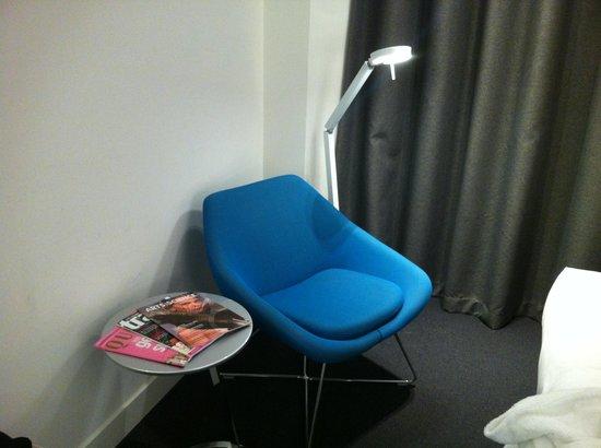 Mercure Nijmegen Centre: De luie stoel.