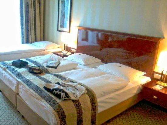 Maritim Hotel Berlin : ein schönes Familien Zimmer