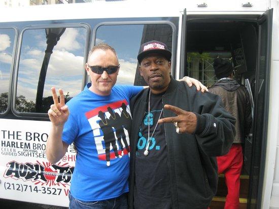 Hush Hip Hop Tours: Grandmaster Caz & DJ Kid