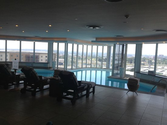 InterContinental Johannesburg OR Tambo Airport : Pool with a view