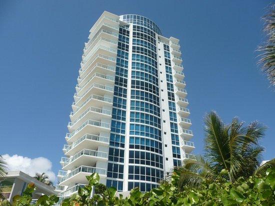 Fontainebleau Miami Beach : vu de l'hotel