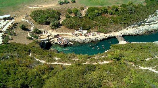 Le Cale d'Otranto Beach Resort : Foto aerea della Cricca