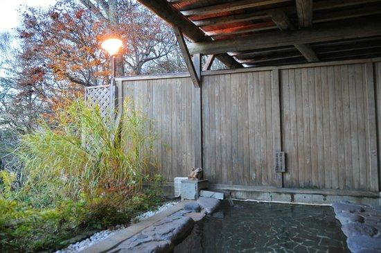 Shiga Park Hotel : 野天風呂