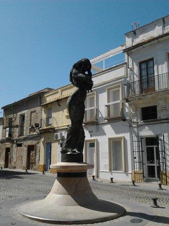 Apartamentos Jerez: Vista a pie de calle