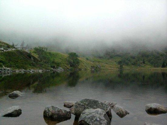 Schronisko Samotnia: the mysterious fog