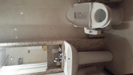 Rivjera: ウォシュレット付きトイレです。