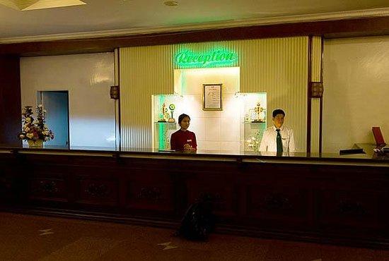 TTC Hotel Premium - Dalat: De receptie van Golf 3 Hotel Dalat