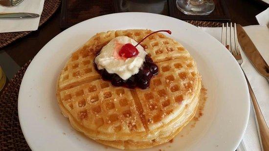 Fairways & Bluewater: Blueberry pancake - breakfats