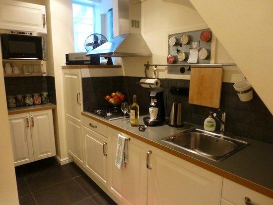 Boogaard's Bed and Breakfast: Apartment kitchen