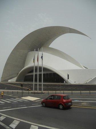 Auditorium de Ténérife (Auditorio de Tenerife) : Audytorium