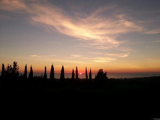 Osteria Dal Conte: tramonto indimenticabile
