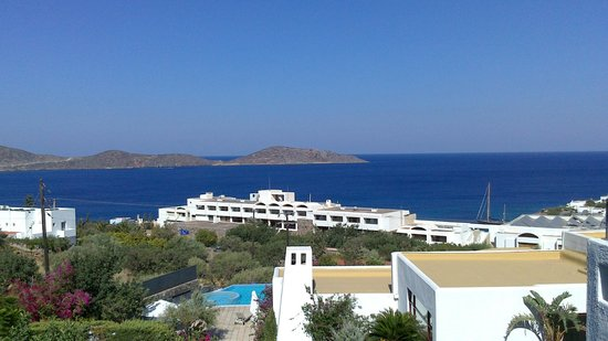 Elounda Gulf Villas & Suites : View from living room