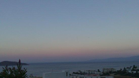 Elounda Gulf Villas & Suites: Sunset view