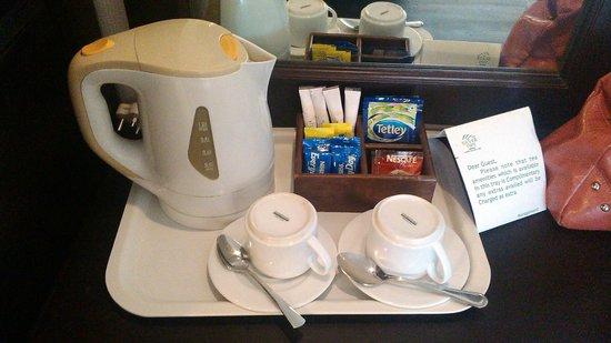 The Silver Tips : tea coffee maker