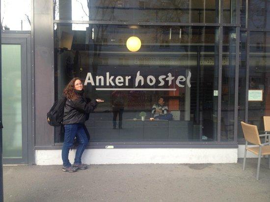 Entrada Anker Hostel