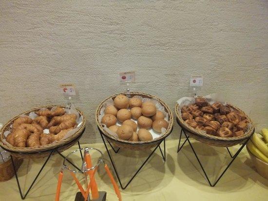 Arietta Hotel Osaka: この日のパン