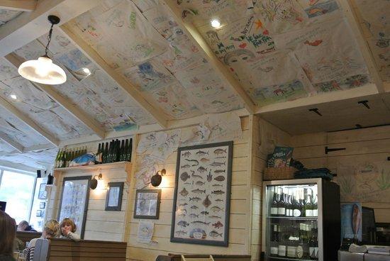 Rockfish Dartmouth : Интерьер ресторана