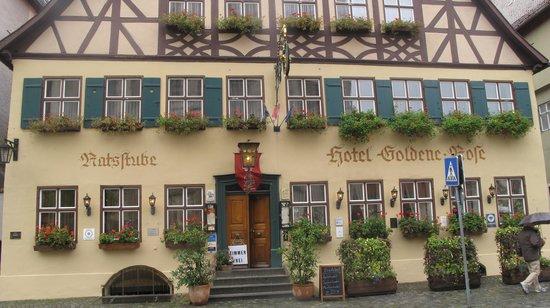 Hotel Goldene Rose: Dış görünüm