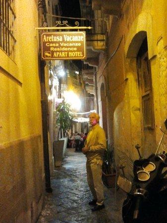 Aretusa Vacanze : Hotel entrance