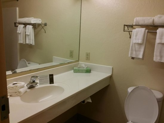 Extended Stay America - Pensacola - University Mall: Bathroom , at this room it doesn't have stopper