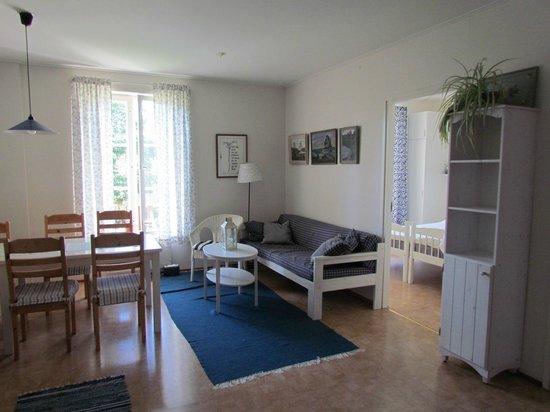 Pellas Gasthem: Lägenhet med egen bastu och 2 sovrum