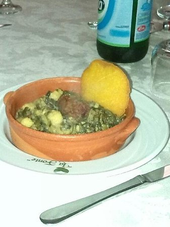 Agriturismo La Fonte : La foto non rende giustizia alla bontà del piatto.