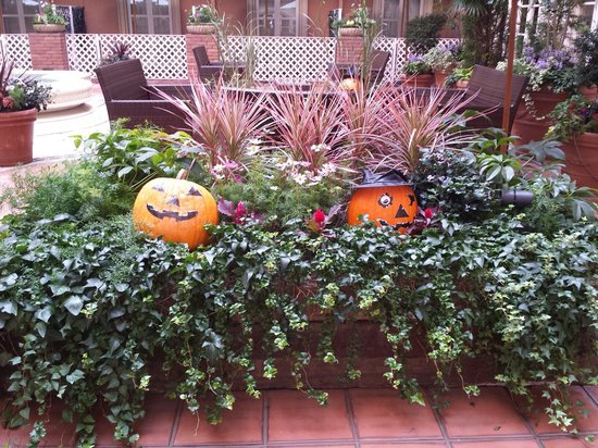 Namba Oriental Hotel : Halloween decor