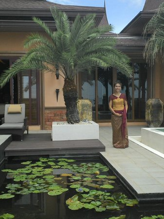 Ammatara Pura Pool Villa: Wonderful staff