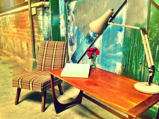 Vintage Warehouse13: Danish Chair Acompanied By a 1960's Anglepoise