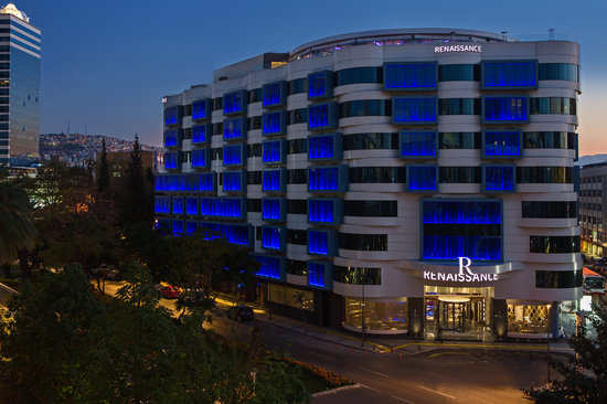 Renaissance Izmir Hotel sits in the heart of the commercial district