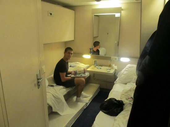 DFDS: our first cabin in deck 2