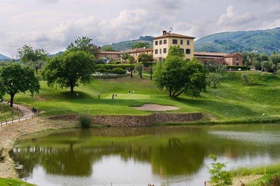 La Foresteria Montecatini Golf: vista dell'hotel