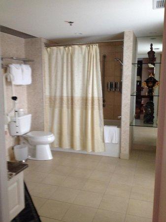 Hotel Palace Royal: Grande salle de bains