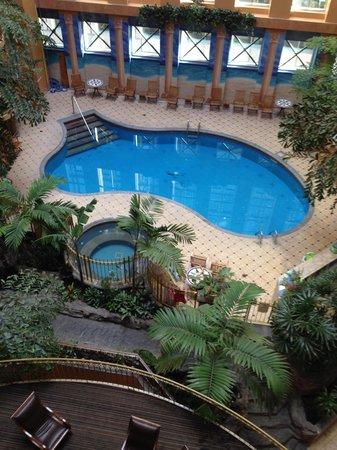 Hotel Palace Royal: Piscine et jacuzzi