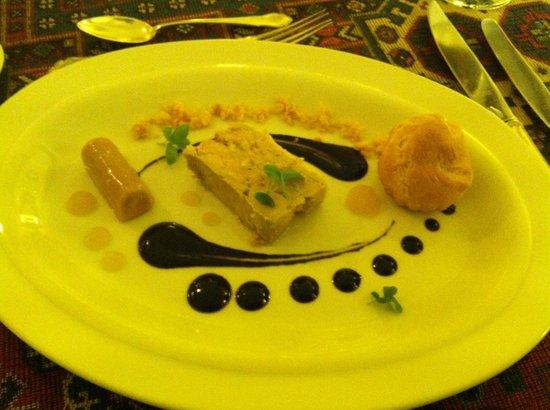 Alabardos Restaurant : Duck liver