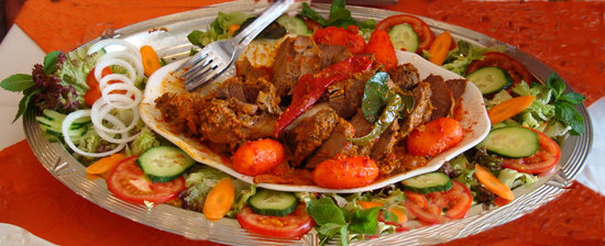 Orchidee: Party masala lamb