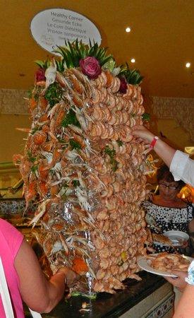 SUNRISE Garden Beach Resort -Select- : Ужин  на Хеллоуин (крабы и креветки)