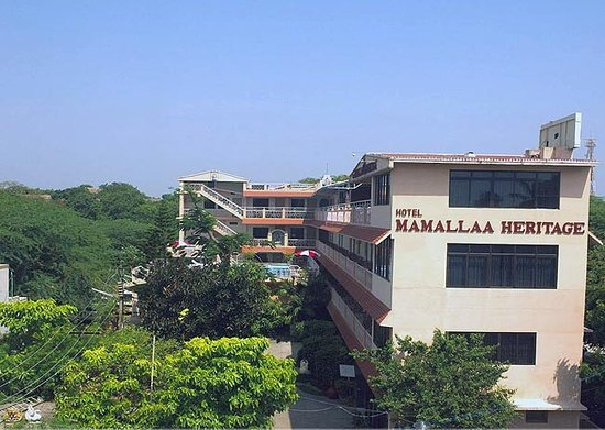 Hotel Mamalla Heritage : Front view Mamalla Heritage
