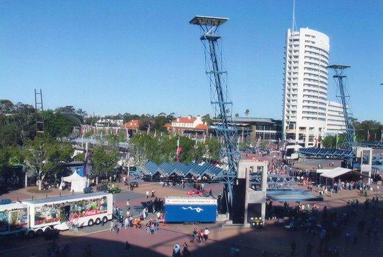Novotel Sydney Olympic Park : Hotel From Stadium