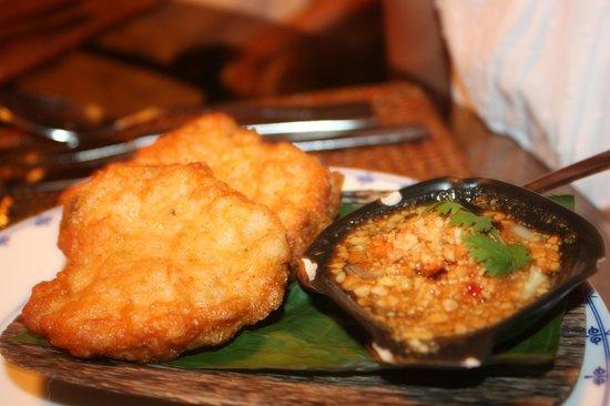 Garden of Eden : beignets de crevettes (délicieux)