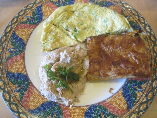 Cleopatra's Restaurant: The tired omelet