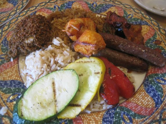 Cleopatra's Restaurant: Main Plate of Brunch