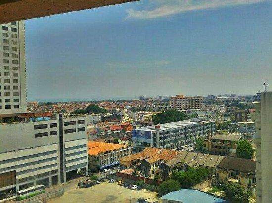 Bayview Hotel Melaka : Hotel view