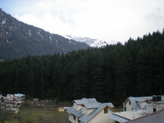 Manali Heights: View from the Room