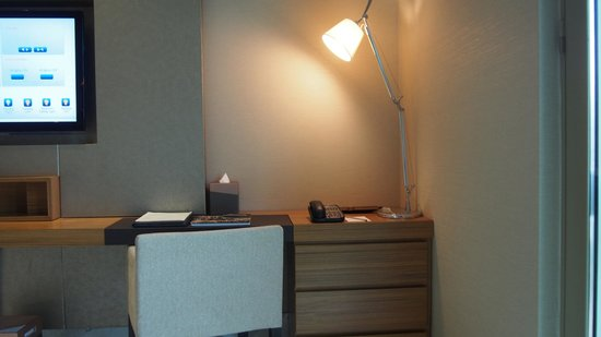 Hotel Fort Canning: good workspace