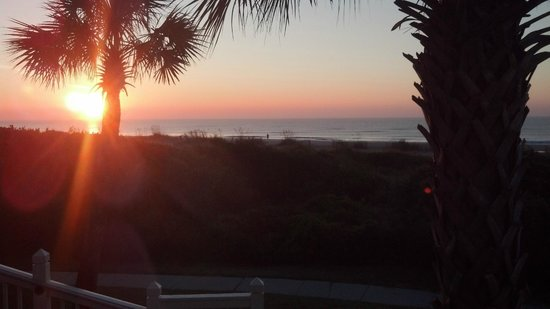 Wild Dunes Resort : Sunrise at Wild Dunes
